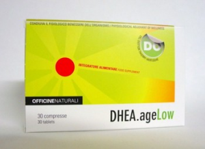 DHEA.AGE LOW -  Stimola e ripristina i normali valori fisiologici dell'organismo