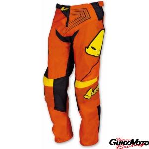 Pantaloni cross bambino arancio/giallo tg. 40