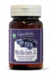 Mirtillo FORTE, 30 capsule Vegan Ok Funzionalità del microcircolo, benessere della vista