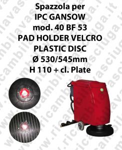PAD HOLDER VELCRO per lavapavimenti GANSOW modello 40 BF 53