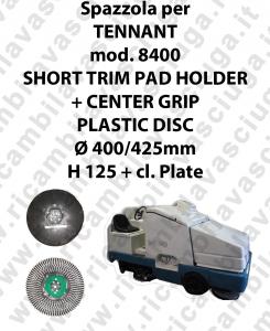 SHORT TRIM PAD HOLDER + CENTER GRIP per lavapavimenti TENNANT modello 8400