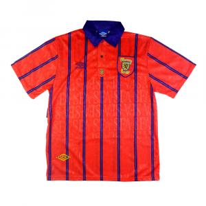 1993-95 Scozia Maglia Away L