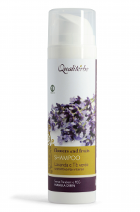 Shampoo sostantivante intenso alla Lavanda e The Verde Linea Flowers and Fruits
