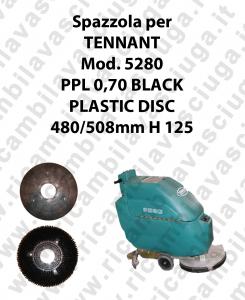 Spazzola lavare PPL 0,70 BLACK per lavapavimenti TENNANT modello 5280