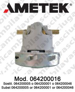 Motore aspirazione 064200016 AMETEK ITALIA per lavapavimenti e aspirapolvere