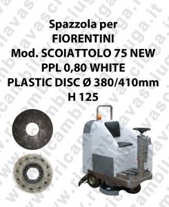 Spazzola lavare PPL 0,80 WHITE per lavapavimenti FIORENTINI modello SCOIATTOLO 75 NEW