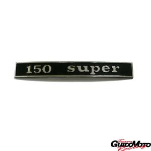Targhetta posteriore -150 super.- per Vespa