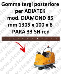 DIAMOND 85 GOMMA TERGI posteriore per lavapavimenti ADIATEK