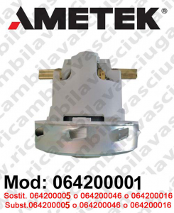 Motore aspirazione AMETEK ITALIA 064200001 per lavapavimenti e aspirapolvere