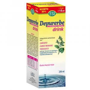 DEPURERBE DRINK - INTEGRATORE DEPURATIVO E BENESSERE DEL FEGATO