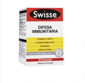 SWISSE DIFESA IMMUNITARIA - INTEGRATORE ALIMENTARE 60 COMPRESSE