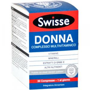 SWISSE DONNA MULTIVITAMINICO - INTEGRATORE PER LA DONNA COMPRESSE