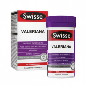 SWISSE VALERIANA - INTEGRATORE RELAX E SONNO 50 COMPRESSE