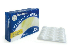 Melatonin Complex Orosoluble Tablets - For Sleep and Against Jet-Lag