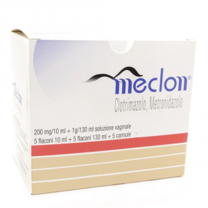 MECLON - LAVANDA VAGINALE ANTISETTICA A BASE DI CLOTRIMAZOLO E METRONIDAZOLO