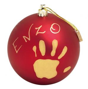 PALLINA CHRISTMAS BALL MAT RED 34120153 DOREL