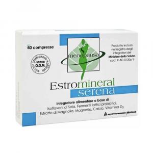 ESTROMINERAL SERENA - UTILE PER CONTRASTARE I DISTURBI DELLA MENOPAUSA 40 CPR