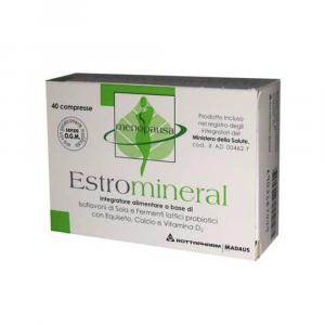 ESTROMINERAL - INTEGRATORE UTILE PER CONTRASTARE I DISTURBI DELLA MENOPAUSA 40 CPR