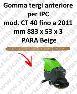 CT 40 fino a 2011 GOMMA TERGI anteriore per lavapavimenti e lavasciuga IPC