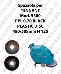Spazzola lavare PPL 0,70 BLACK per lavapavimenti TENNANT modello 5300