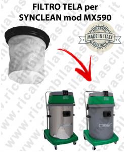 MX 590 -  FILTRO TELA per aspirapolvere SYNCLEAN
