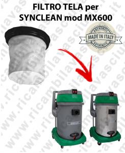 MX 600 - FILTRO TELA SYNCLEAN per aspirapolvere