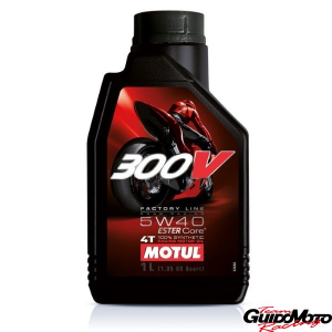 OLIO MOTUL FACTORY ROAD RACING 300V 4 TEMPI 5W40 104112