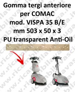 VISPA 35 B/E GOMMA TERGI anteriore antiolio Comac