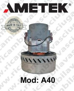 Motore aspirazione AMETEK ITALIA A40 per Lavapavimenti, aspirapolvere e aspiraliquidi