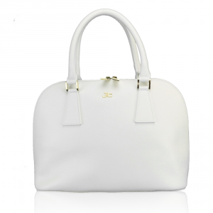 Hand and shoulder bag J&C JackyCeline  B301-12 002 WHITE
