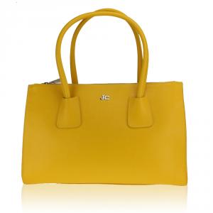 Hand and shoulder bag J&C JackyCeline  B317-01 025 GIALLO