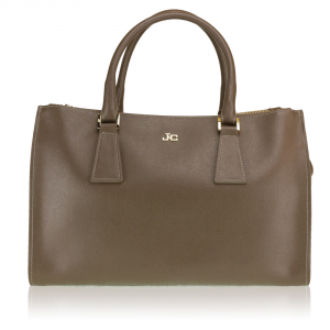 Hand and shoulder bag J&C JackyCeline  B301-07 006 D.BROWN