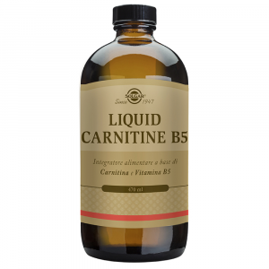 LIQUID CARNITINE - INTEGRATORE DI L-CARNITINA CON VITAMINA B5 470 ML
