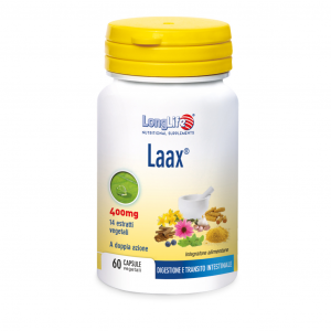 LAAX - INTEGRATORE UTILE PER DIGESTIONE E TRANSITO INTESTINALE LONG LIFE