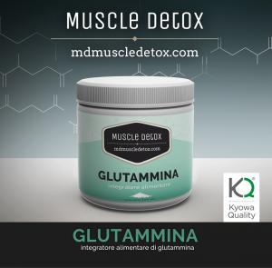 Glutammina KYOWA QUALITY - Impedisce il Catabolismo Muscolare e Stimola l' Ormone della Crescita