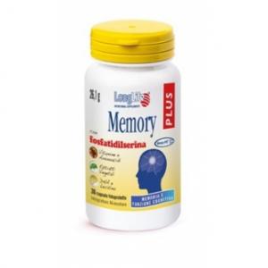LONGLIFE MEMORY PLUS - INTEGRATORE ALIMENTARE PER LA MEMORIA