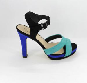Sandalo donna elegante da cerimonia scamosciato tre colori con cinghietta regolabile  Art. 07438DD58 Menbur