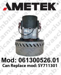 Motore aspirazione 061300526.01 AMETEK per lavapavimenti (sostituisce SY711301)