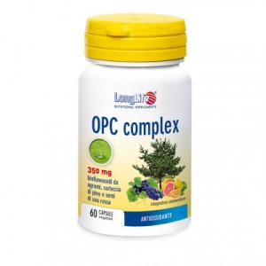 LONGLIFE OPC COMPLEX - INTEGRATORE ANTIOSSIDANTE E CARDIOVASCOLARE