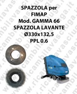 SPAZZOLA LAVARE  per lavapavimenti FIMAP GAMMA 66