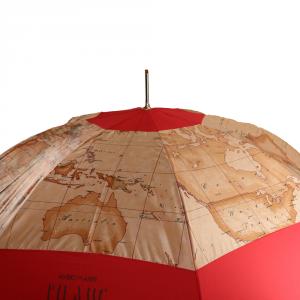 Parapluie Alviero Martini 1A Classe  Geo-C 63/8 Rosso