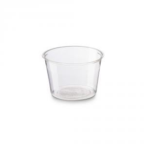 Coppette biodegradabili trasparenti in PLA 100ml