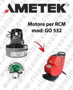 GO 532  MOTORE aspirazione LAMB AMETEK lavapavimenti RCM