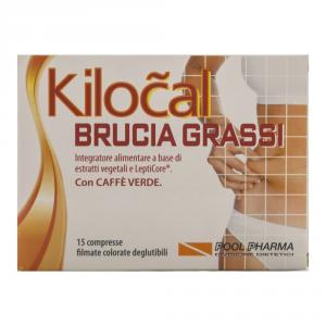 KILOCAL BRUCIA GRASSI - INTEGRATORE PER IL MANTENIMENTO DEL PESO CORPOREO 15 CPR