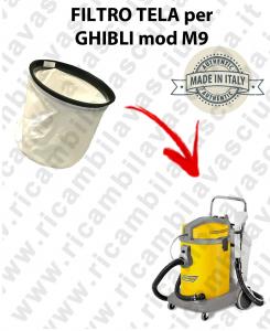 FILTRO TELA PER aspirapolvere GHIBLI modello M9