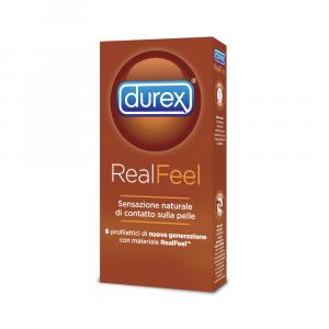 DUREX REAL FEEL - PRESERVATIVI CON SENSAZIONE NATURALE DI CONTATTO SULLA PELLE