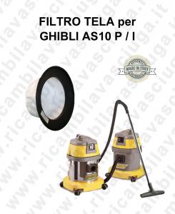 FILTRO TELA PER aspirapolvere GHIBLI modello AS10 P / I
