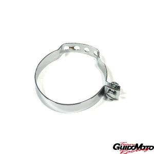 Fascetta cromata per fissaggio cavi e guaine al telaio Innocenti Lambretta LI, TV Special, SX  LAL142