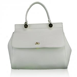 Hand and shoulder bag J&C JackyCeline  BO1601DOL 002 WHITE