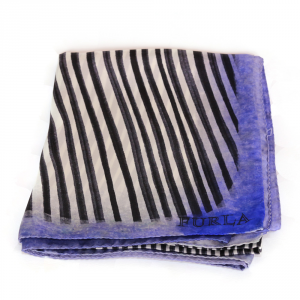 Headscarf Furla DIAMANTE 725790 ONYX+PANNA